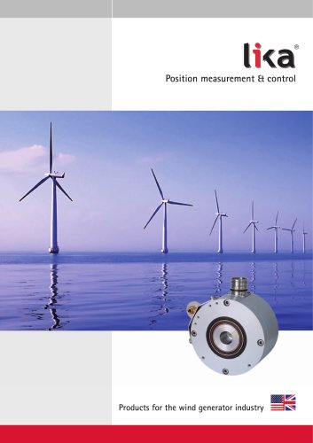 Products for the wind generator industry