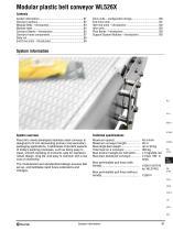 Conveyor system WL526X
