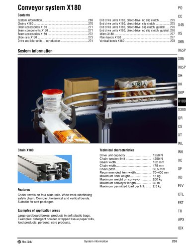 Conveyor System X180