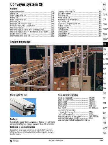 Conveyor System XH