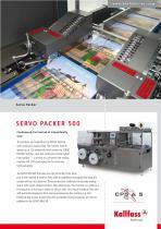 Automatic High-Speed Shrink Wrapper: Servo Packer 500