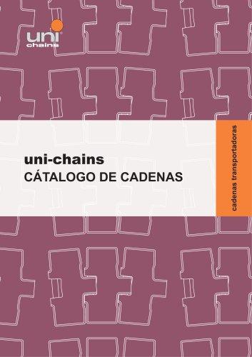 CÁTALOGO DE CADENAS