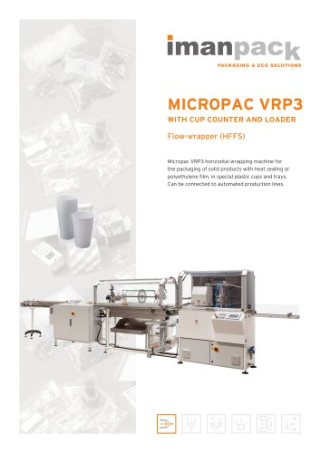 MICROPAC VRP3 WITH CUP COUNTER AND LOADER