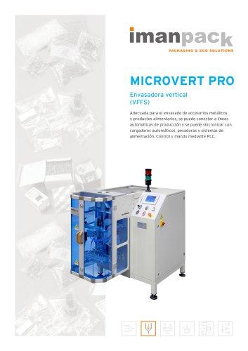 Microvert PRO : Envasadora vertical