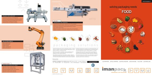 PACKAGING SOLUTIONS for FOOD