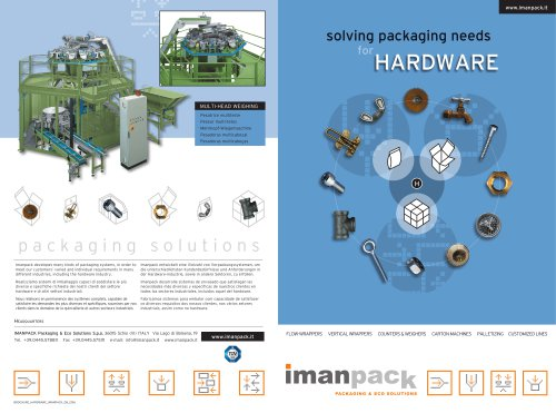 PACKAGING SOLUTIONS for HARDWARE