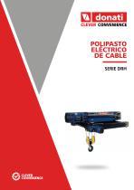 Polipasto eléctrico de cable - Serie DRH - 1