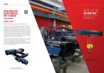 Polipasto eléctrico de cable - Serie DRH - 2