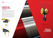 Polipasto eléctrico de cable - Serie DRH - 3