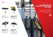 Polipasto eléctrico de cable - Serie DRH - 5