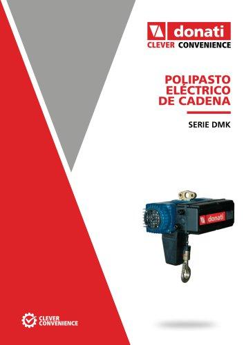 Polipasto eléctrico de cadena  - Serie DMK
