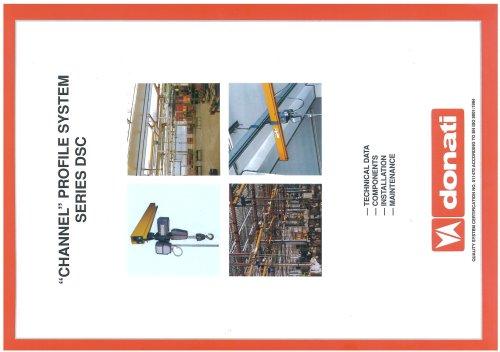 "System Profil ""canal"" Serie DSC"
