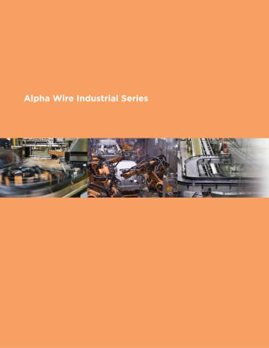 Alpha Wire Industrial Series Cable