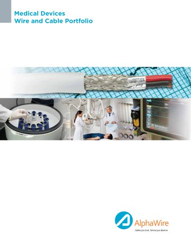 Medical Device Wire and Cable Brochure