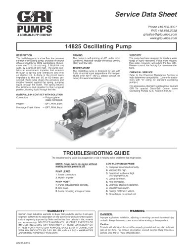 14825 Oscillating Pump