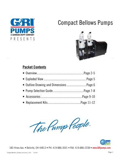 Compact Bellows Metering Pumps