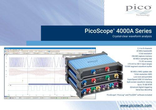 PicoScope®  4000A Series