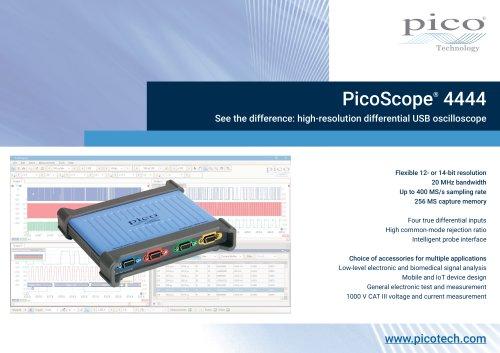 PicoScope®  4444