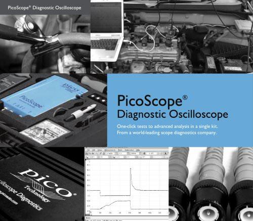 PicoScope® Diagnostic Oscilloscope