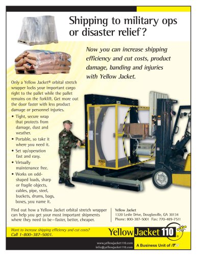 Shipping to Military Ops or Disaster Relief?