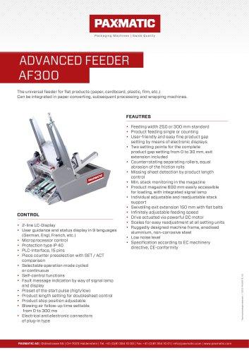 ADVANCED FEEDER  AF300