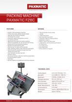 Packine machine F28C