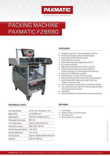 Packing machine F28R80