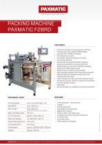 Packing machine F28RD