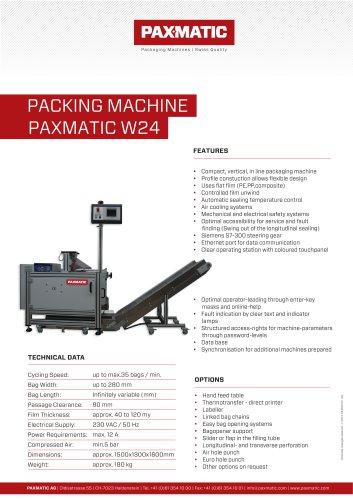 Packing machine W24