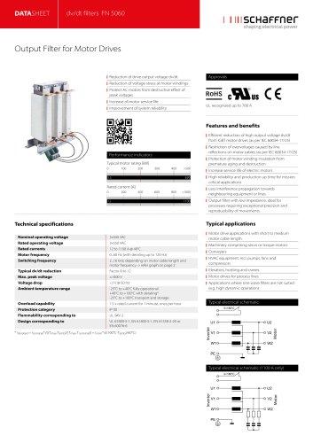 dv/dt filters FN 5060