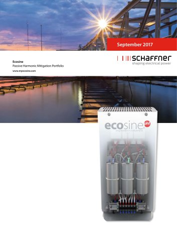 Ecosine - Passive Harmonic Mitigation Portfolio