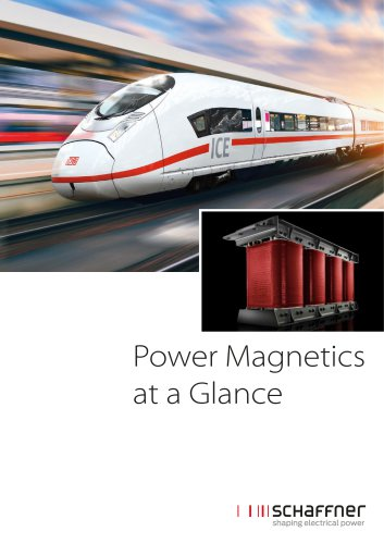 Power Magnetics at a Glance