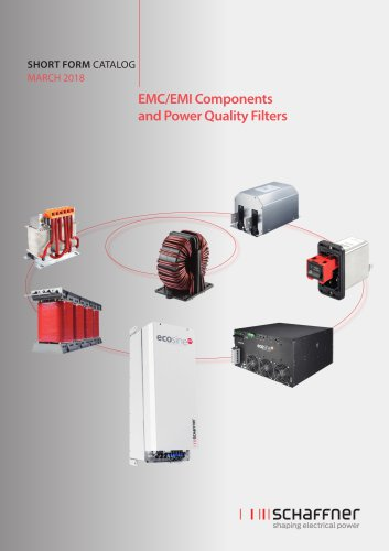 Short Form Catalog: EMC/EMI Components and Power Quality Filters