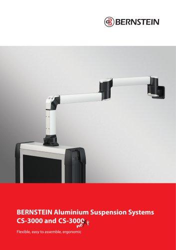 Aluminium Suspension Systems CS-3000 and CS-3000 neXt