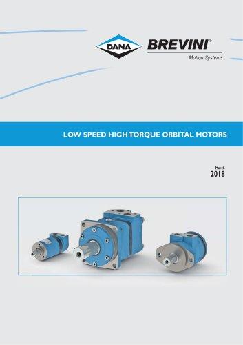 Low speed high torque Orbital Motors
