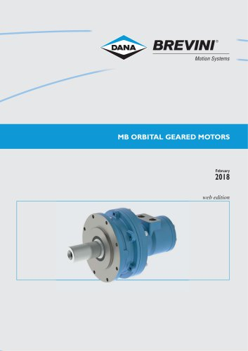 MB Orbital geared motors