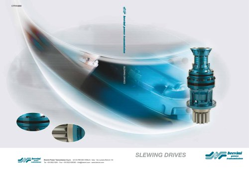 MOBILE SLEWING DRIVES