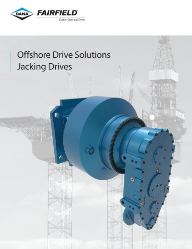 Offshore Drive Solutions Jacking Drives