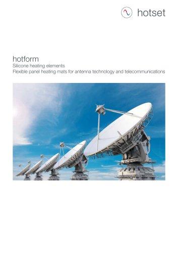 hotform Silicone Heating Elements - Telecommunication