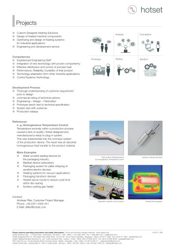 Projects - Customer Project Engineering