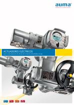 ACTUADORES ELÉCTRICOS para la automatización de válvulas de la industria del petróleo y el gas