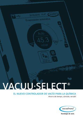 VACUU·SELECT EL NUEVO CONTROLADOR DE VACÍO PARA LA QUÍMICA