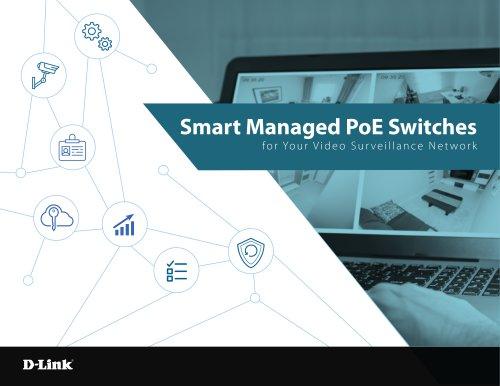 Smart Managed PoE Switches