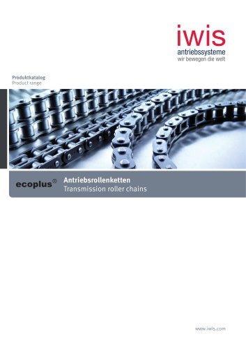 ecoplus transmission roller chains