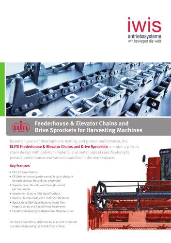Feederhouse & Elevator Chains