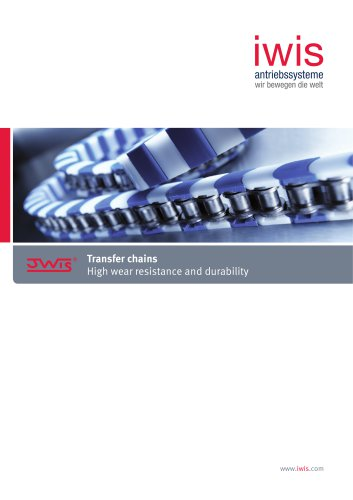Transfer chains - High wear resistance and durability