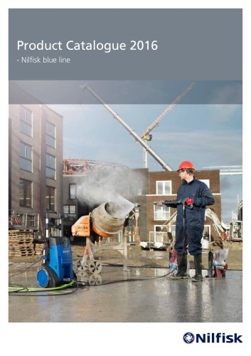 Nilfisk blue line product catalogue 2016