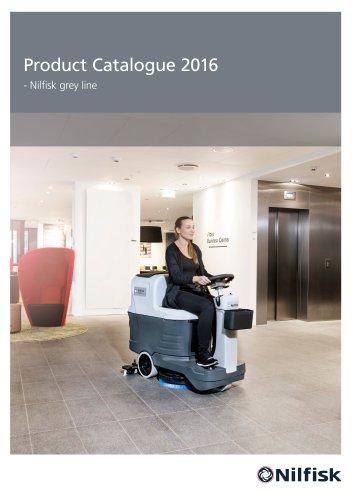Nilfisk grey line product catalogue 2016