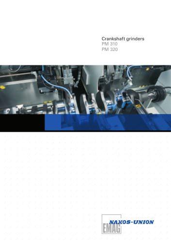Crankshaft grinder PM310/320