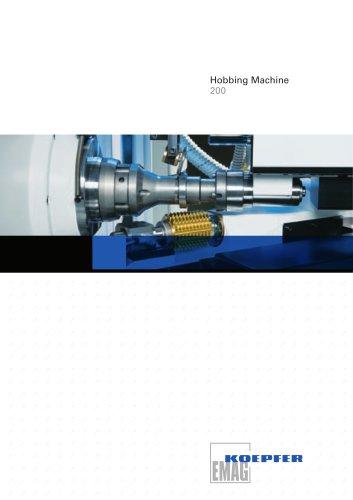 Gear Hobbing Machine - K 200